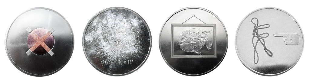 Art Reserve Bank - coins by Ted Noten